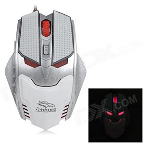 MOU-RH1591 R-Horse Gaming Mouse FC-1591 Model Terminator