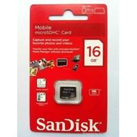 Jual SANDISK MicroSDHC Class4 16GB (Original 100%)