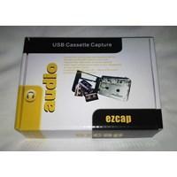 Jual Ezcap218 USB Cassete Tape Capture (Rekam Kaset Lama ke MP3 Otomatis)  [an]