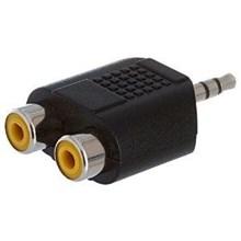 Converter Jack Audio 3.5 male to 2 RCA Female [ML]