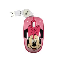 Optical Mouse Retractable DISNEY Magical Minnie Mo