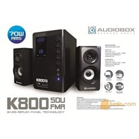 AUDIOBOX Speaker Subwoofer 2.1 K800 SDU FMR  [ML]