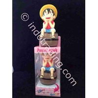 Distributor Powerbank Cartoon 3D Luffy Onepiece 3200Ma 3