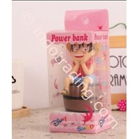 Jual Powerbank Cartoon 3D Luffy Onepiece 3200Ma 2