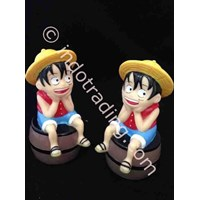 Beli Powerbank Cartoon 3D Luffy Onepiece 3200Ma 4
