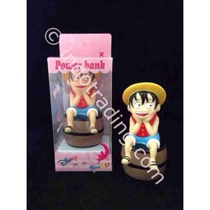 Powerbank Cartoon 3D Luffy Onepiece 3200Ma