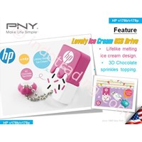 Usb Flash Disk Hp V178 Es Krim 1