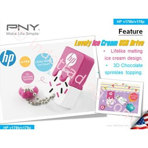 Usb Flash Disk Hp V178 Es Krim