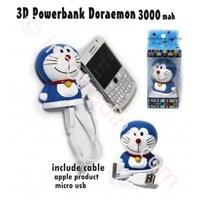 Distributor Powerbank 3D Cartoon Doraemon 3200Ma 3