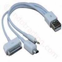 Jual Usb Kabel Data 3 In 1 Microusb (Bb) Lightning (Iphone5 Ipad4 Ipad Mini) Apple 30Pin (Iphone4 Ipad3)  2