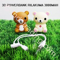 Beli Powerbank 3D Cartoon Rilakkuma 3200Ma 4