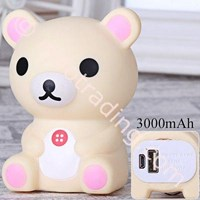 Distributor Powerbank 3D Cartoon Rilakkuma 3200Ma 3