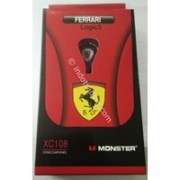 Ear-597 Earphone Ferrari Xc-108  1
