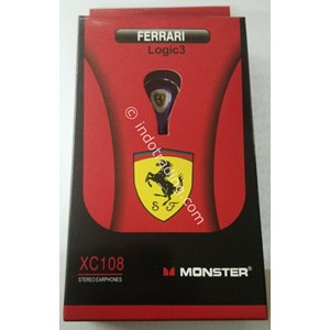 Ear-597 Earphone Ferrari Xc-108