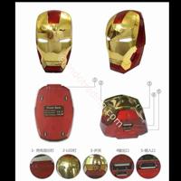 Jual Powerbank 3D Kepala Ironman 5200Ma 2