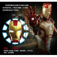 Distributor Powerbank 3D Kepala Ironman 5200Ma 3