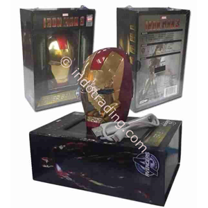 Powerbank 3D Kepala Ironman 5200Ma