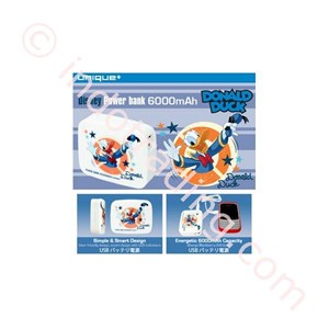 Powerbank Disney Original 6000Ma Donald Duck