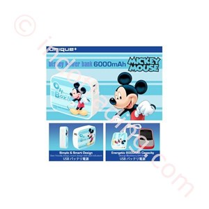 Powerbank Disney Original 6000Ma Mickey Mouse