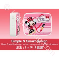 Distributor Powerbank Disney Original 6000Ma Minnie Mouse 3