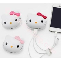 Powerbank Kepala Hello Kitty 8000Ma 1