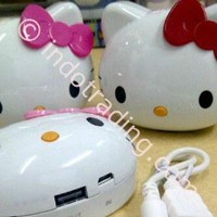 Beli Powerbank Kepala Hello Kitty 8000Ma 4