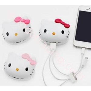 Powerbank Kepala Hello Kitty 8000Ma