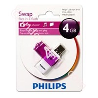USB FLASHDRIVE PHILIPS VIVID 4GB  1