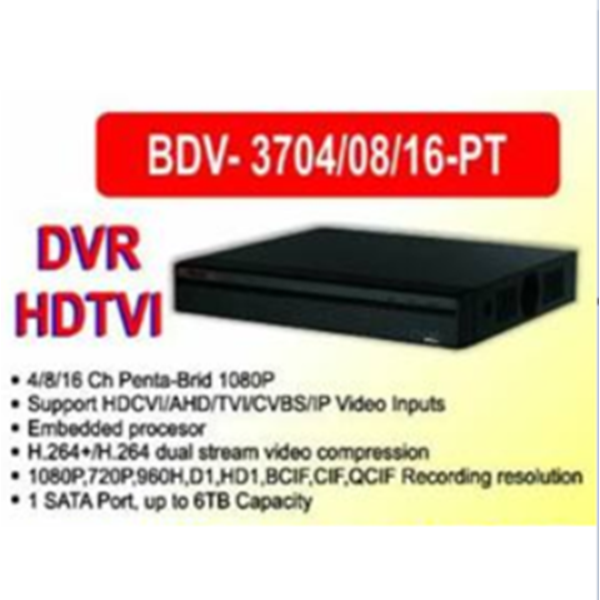 DVR CCTV Infinity HDTVI 8 Channel