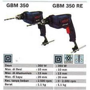 mesin bor tangan bosch gbm 350