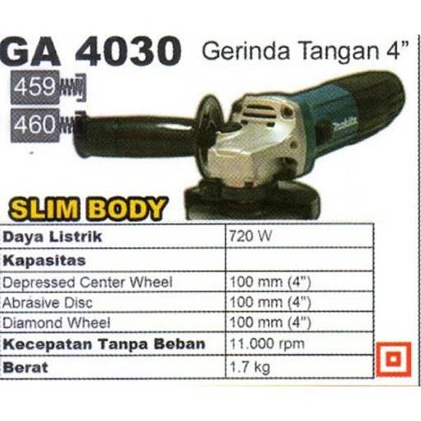Mesin Gerinda Makita GA4030