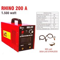 Mesin Las Rhino 200