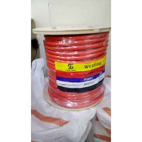 Kabel las standart full tembaga orange 50mm
