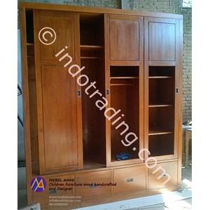 Export Wardrobe 4 Doors Indonesia