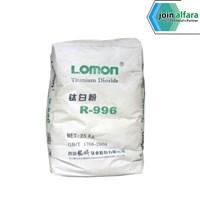Bahan Kimia Titanium Dioxide Rutile Lomon R996