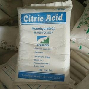 Citric Acid Monohydrate - Bahan Kimia Industri