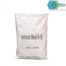 Antrasit Mesh 8-16 - Bahan Kimia Industri