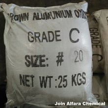 Aluminium Oxide Brown Grade C - Kimia Industri