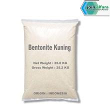 Sodium Bentonite Kuning  - Kimia Industri