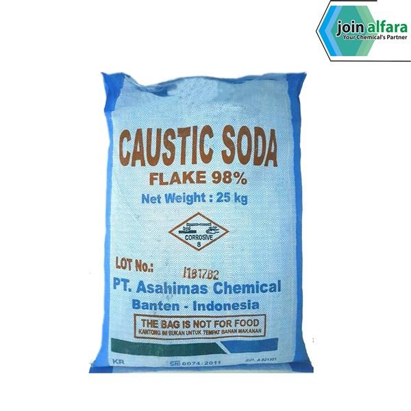 Caustic Soda Flake Asahi - Bahan Kimia Industri