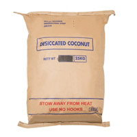 Low Fat Dessicated Coconut (LFDC) 25 Kg 1