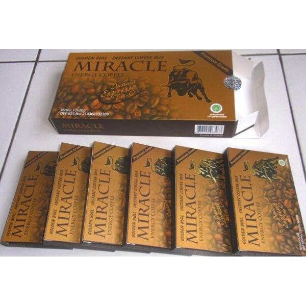 Kopi Miracle Stamina Pria Miracle Coffee Vitalitas Lelaki