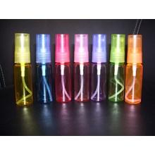 Botol kemasan BR 20 ml + Spray Warna-warni