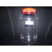 The JAR 2 LITER 63 GRAMS of RED LID HANDLE &