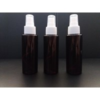Botol Rf 100 Ml Coklat Dan Spray Putih Susu