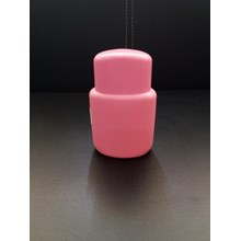 Amami Cosmetic plastic bottle 50 Pink-Pink