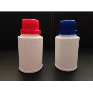 Botol Plastik Dami 100 ml putih susu bulat