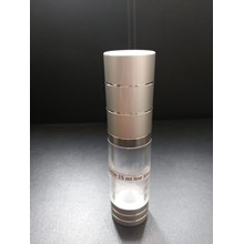 BOTTLE 15 ML LINE SILVER