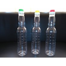 BOTTLE PLASTIC PET SOY SAUCE 600 ML DOUBLE CAP