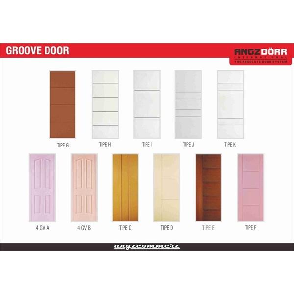 Pintu HDF Angzdoor Type Groove